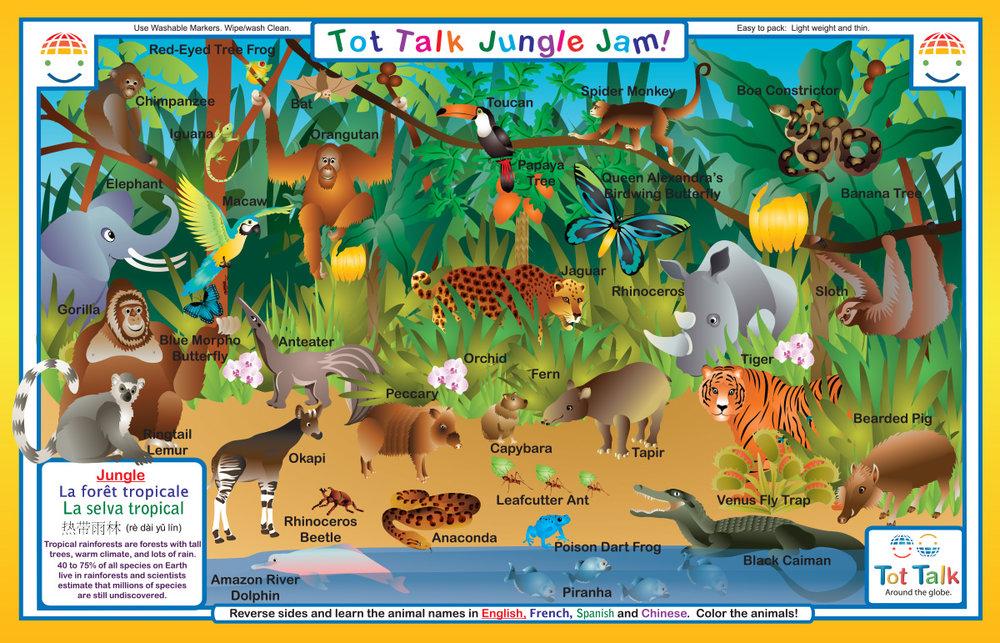 Jungle Placemat