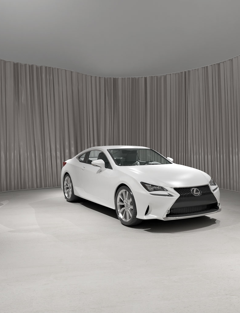 LEXUS RC - Design Proposal for the new Lexus Car Dealer