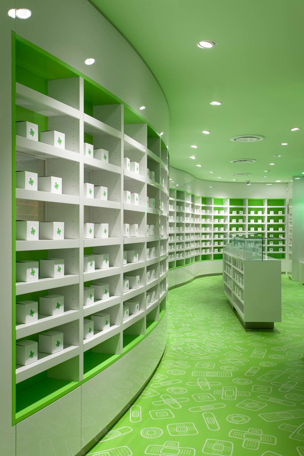 Careland Pharmacy Design Interior Retail Store Design
