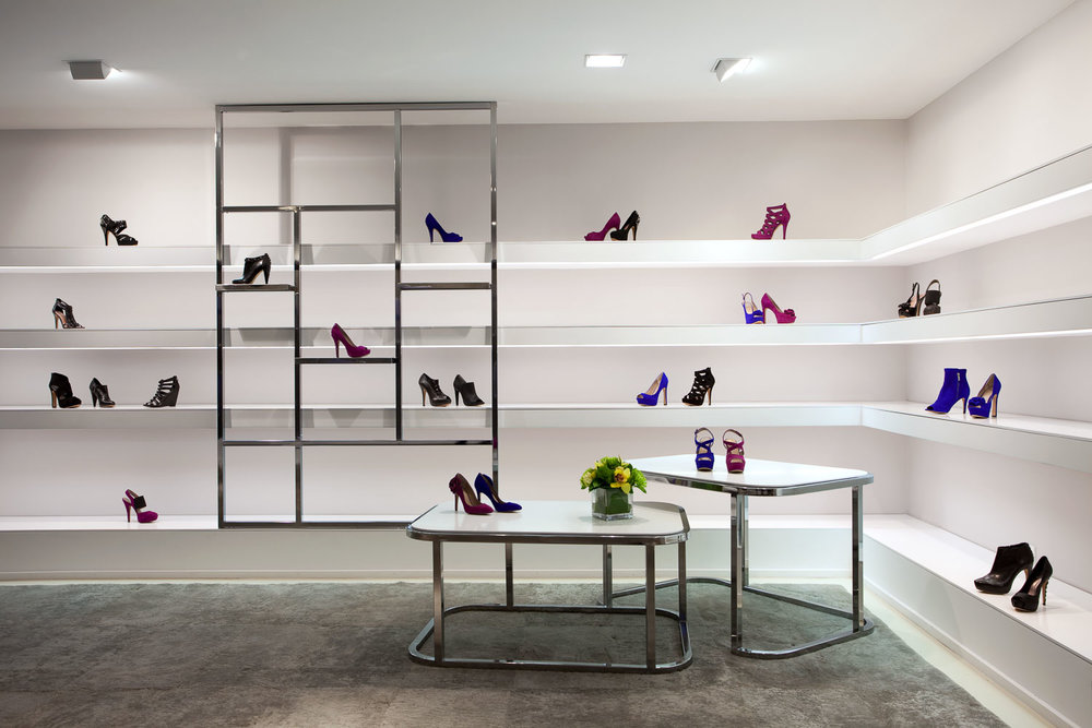 Vince Camuto Showroom, New York, Retail Store Design  Sergio Mannino Studio