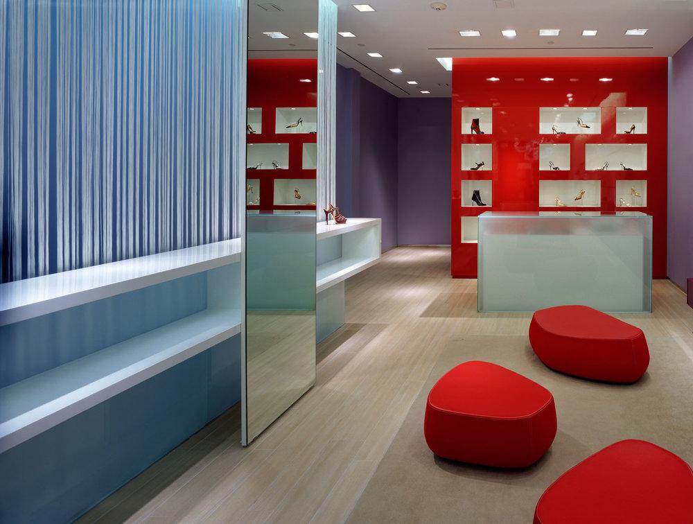 Hirshleifers Shoe Store Interior design Retail Store Design