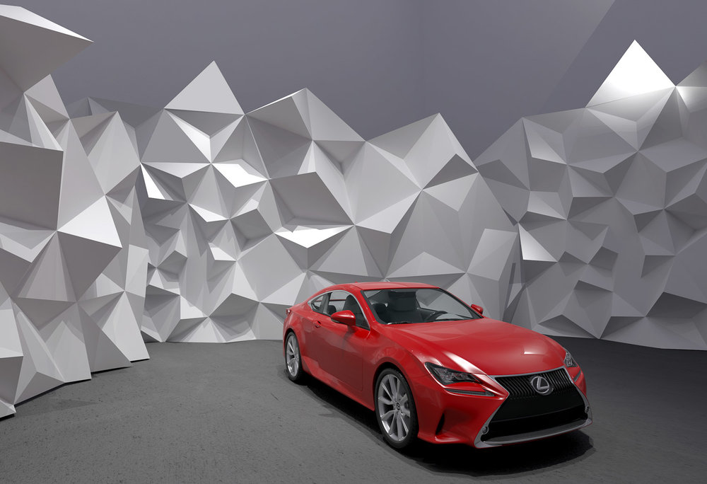 LEXUS RC - Design Proposal for the new Lexus Car Dealership