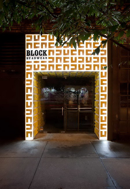 Block Headwear   Retail Storefront Design