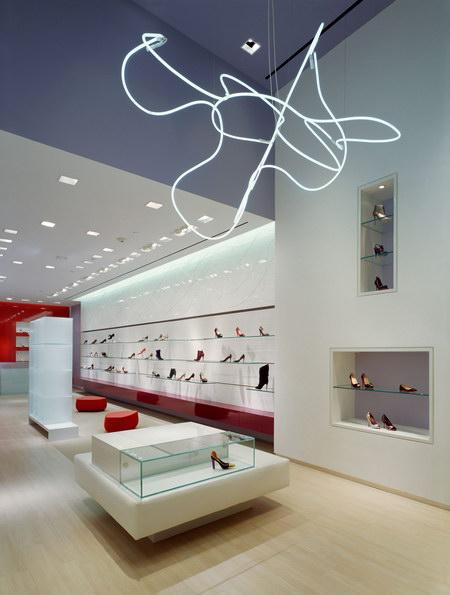 Hirshleifer's Shoe Store Retail Store Design