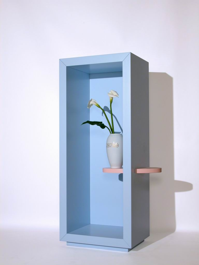 """Un fiore per te"" (A flower for you) Ceramic vase by Remo Buti"