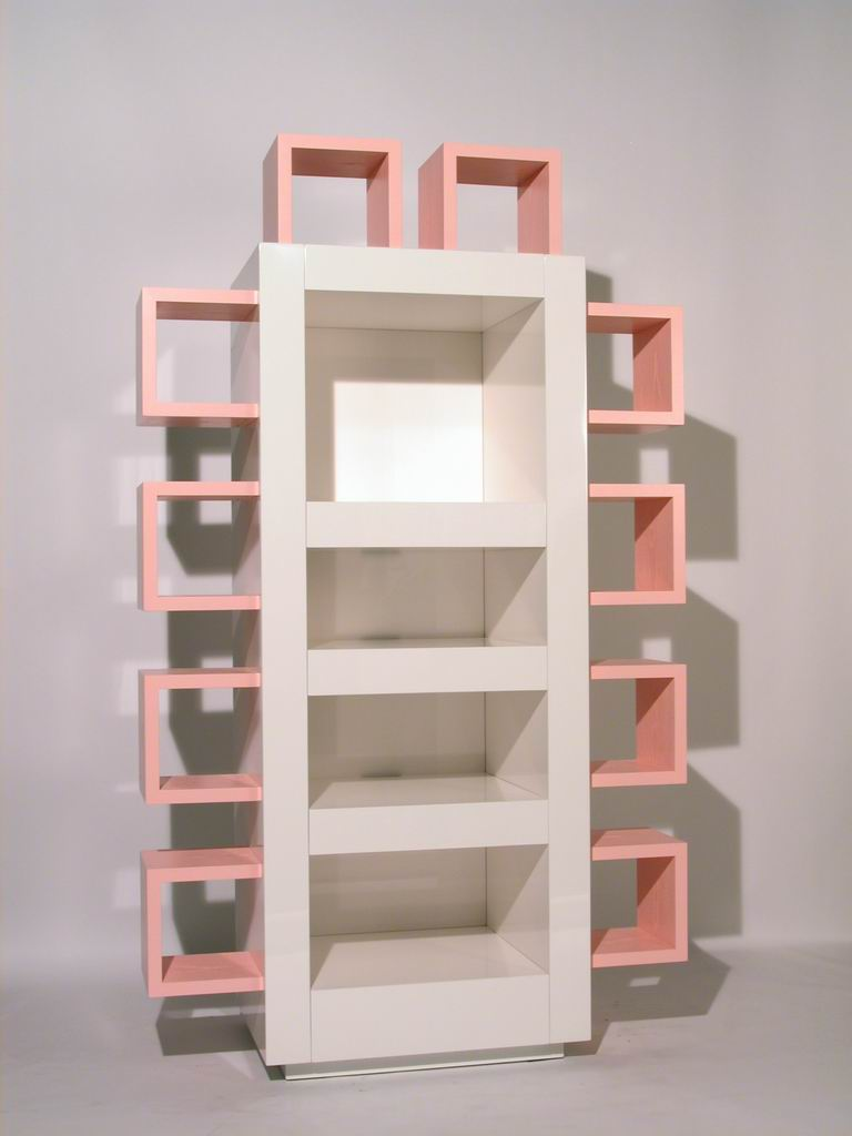"""Musica per le mie orecchie"" (Music for my ears) Stereo cabinet/Bookcase"