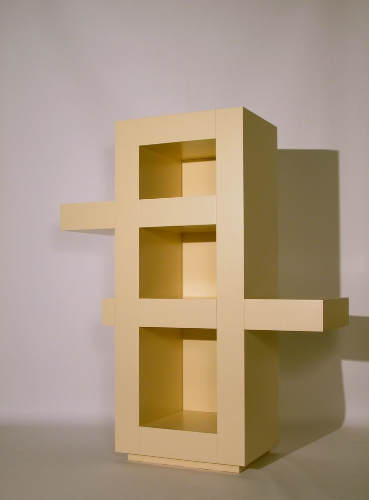 """Estruso"" (Extruded) Bookcase"