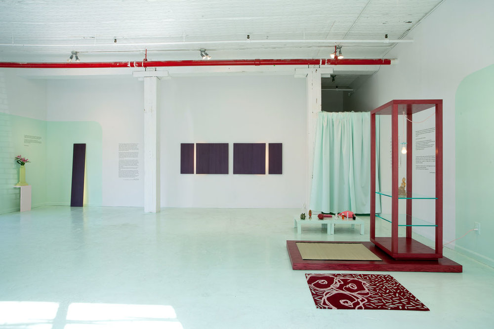 Room For Ritual, view of the exhibition