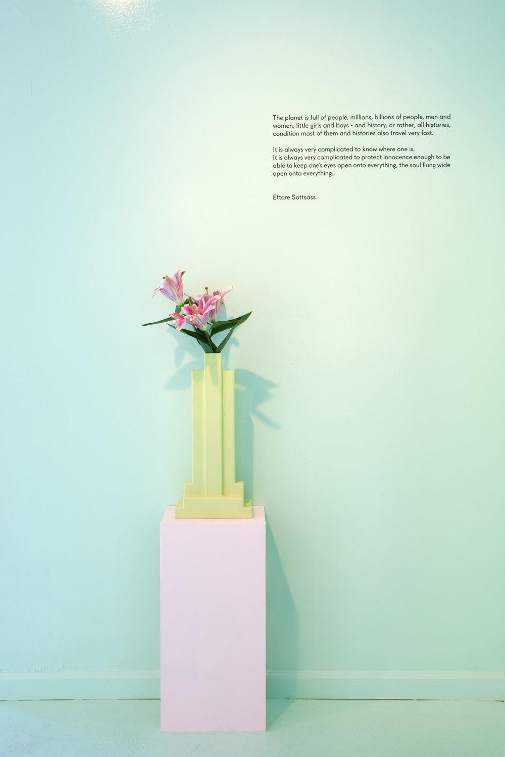 Ettore Sottsass Tantra Vase