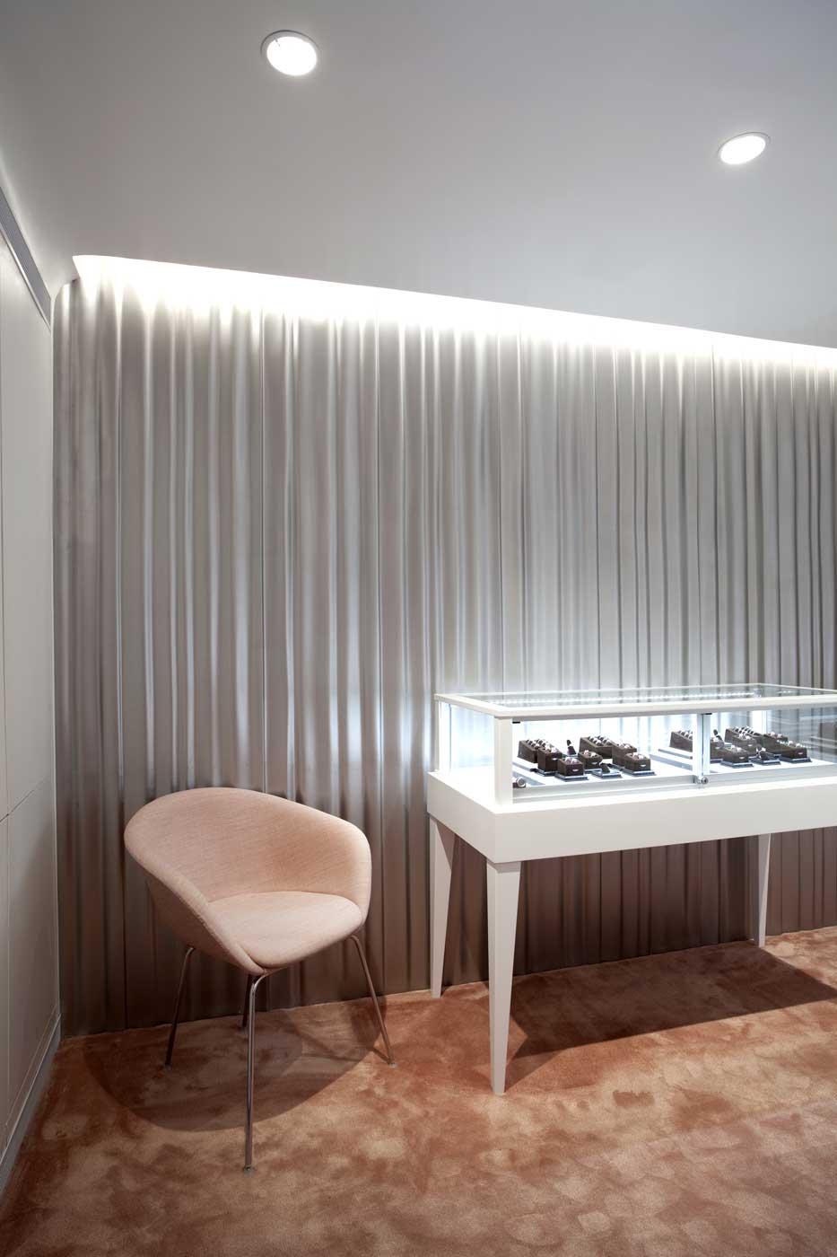 James Allen Jewelry Showroom Design in New York