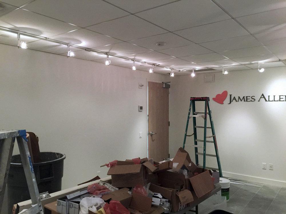 James Allen Jewelry Showroom Existing Conditions