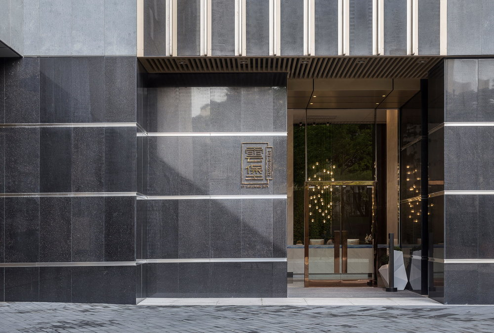 LOBBY AND BUILDING FACADE -