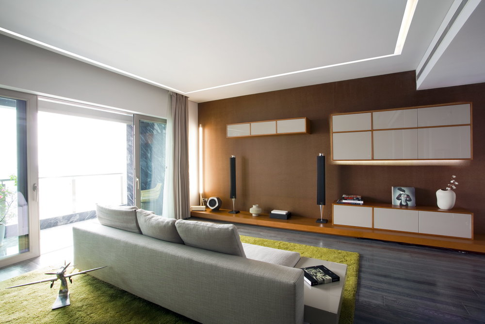 Green Apartment Interior Design