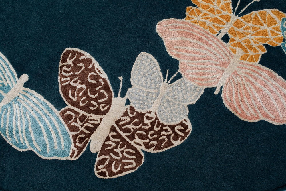 SPIRIT IN THE SKY BUTTERFLY RUGS -