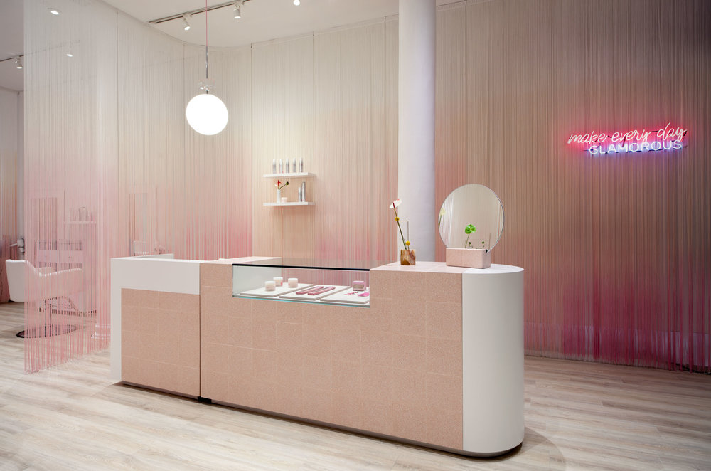 HAIR SALON DESIGN IN NY: GLAM SEAMLESS -