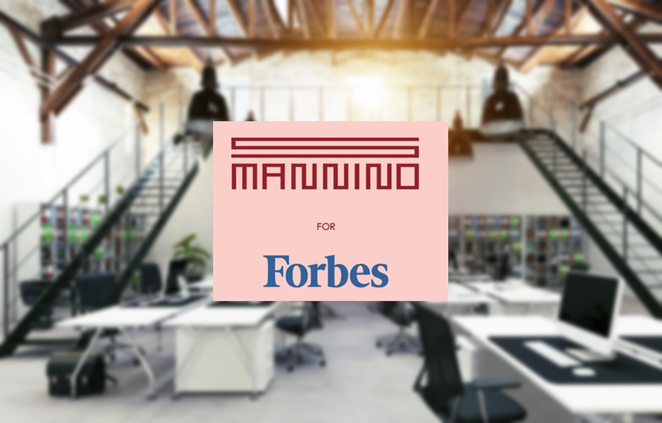 Sergio Mannino for Forbes: How to Design an Office for a Startup