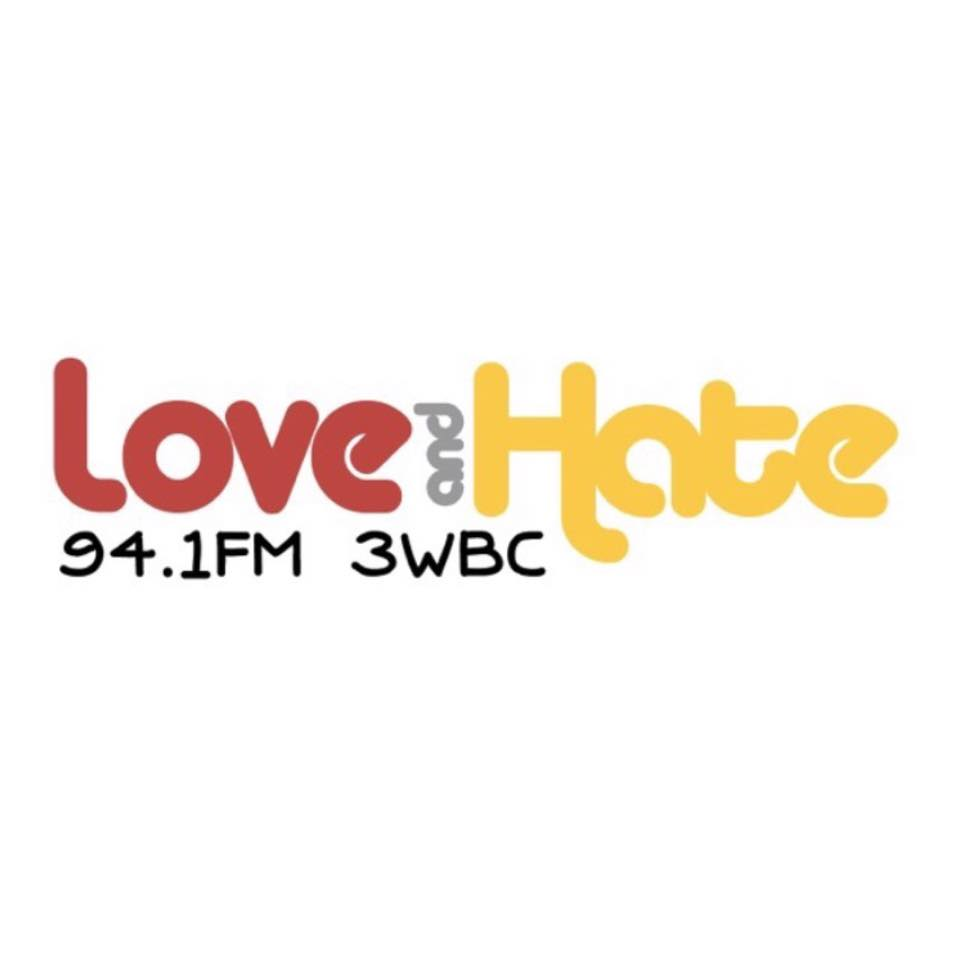 3WBC 94.1FM  is 3WBC 94.1 FM Radio Voice of Indonesia is also known as Love and Hate