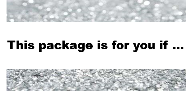 package is for you if.png