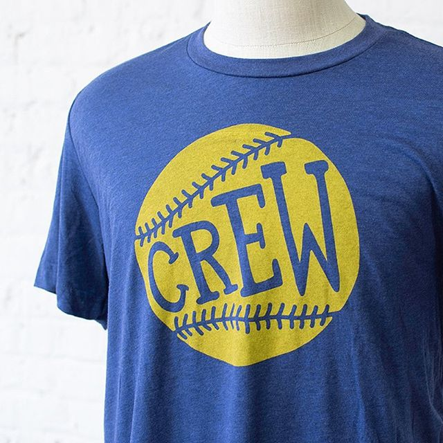 We're here for the Crew 👏 Celebrate Opening Day with these unique pieces. ⚾️ Link in bio. Free shipping on all orders & in-store pick up option available.