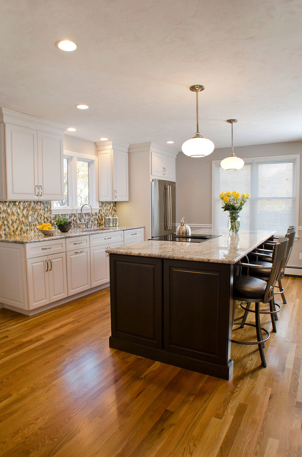 Quincy, MA kitchen interior renovation by Susan Curtis