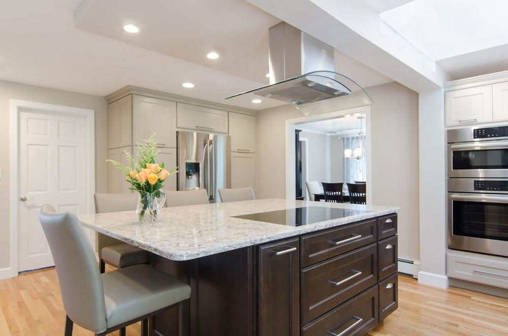 Braintree, Ma kitchen revilazation by Susan Curtis Interiors