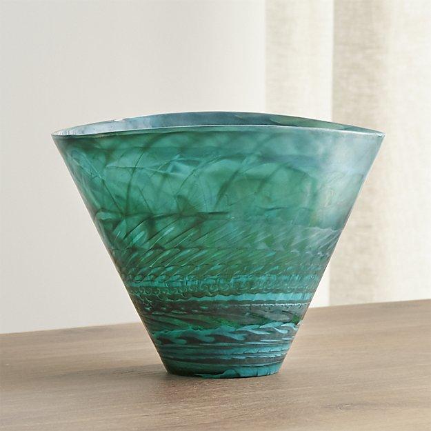 Crate and Barrel: Aquatic Vase