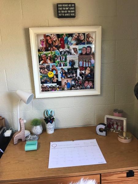 Daughter's Desk Area