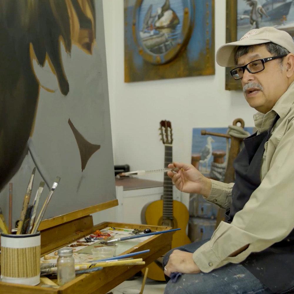 Master Painter Enrique Vidal