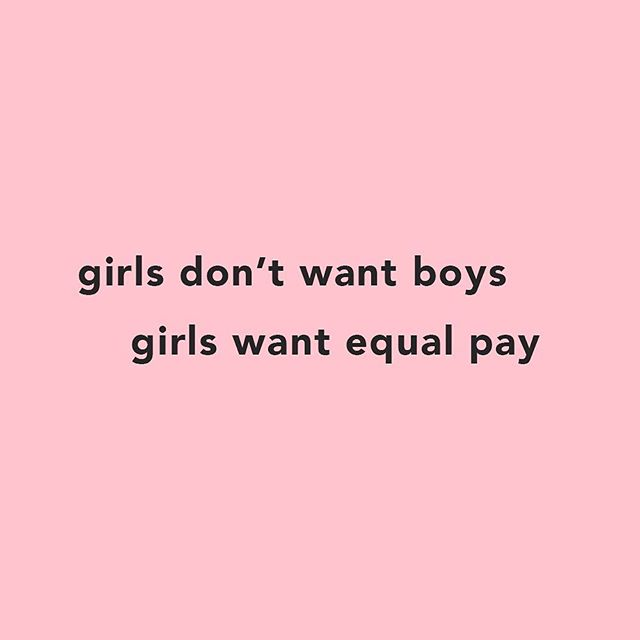 In the (sort of) words of @goodcharlotteband #fthepaygap . . . . . Inspired by @expressiontees
