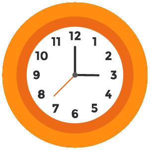 Icono de un reloj