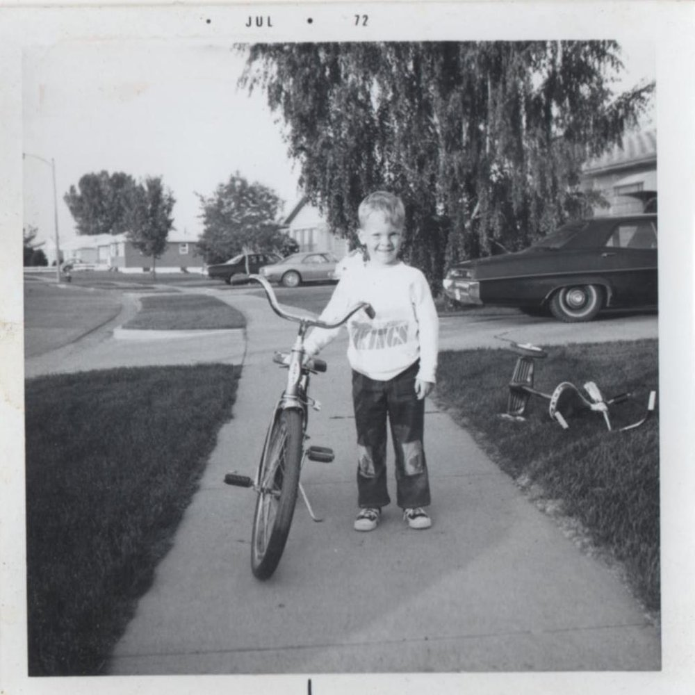Training wheels came off at age 3 and it's been all downhill ever since.