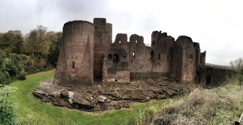 Glorious Goodrich Castle - Romantic Norman stronghold in the Wye Valley