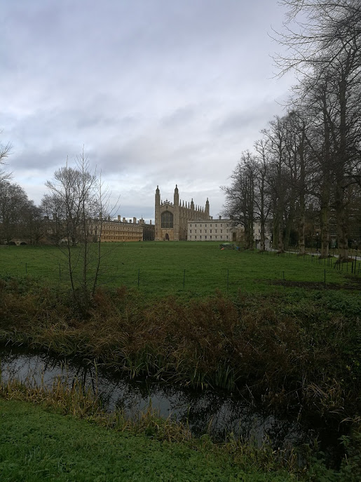 Is this the most cliched view of Cambridge? I think it may be…