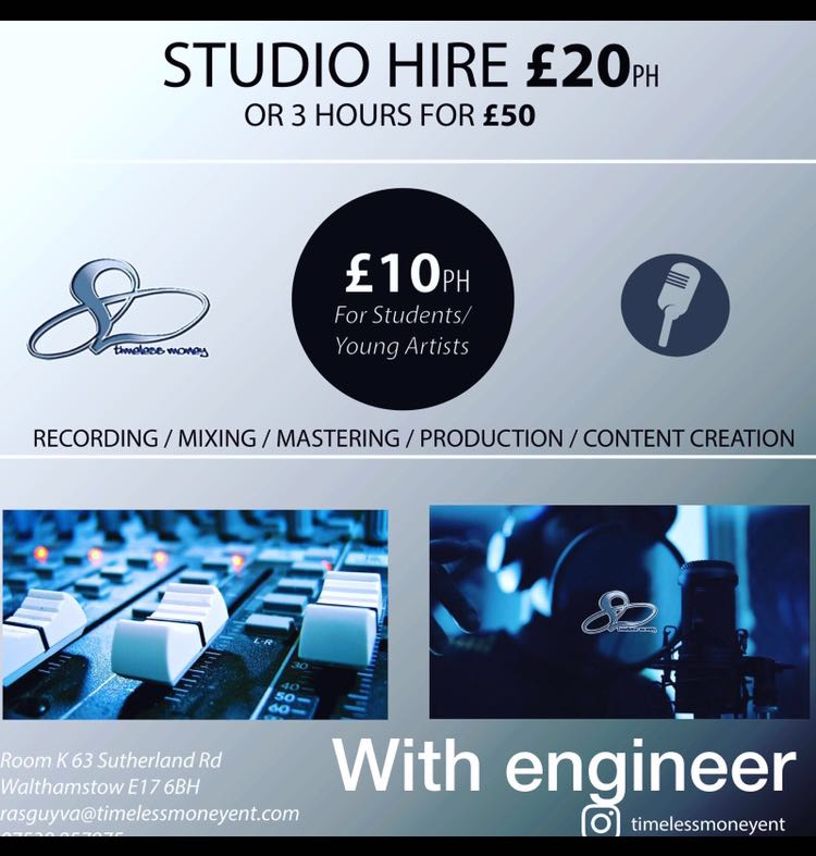 Contact management for studio contact info -
