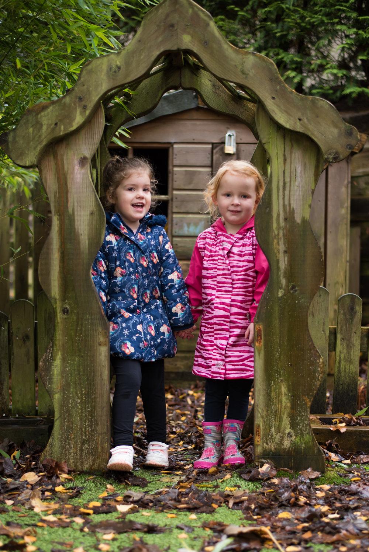 Whalley preschool garden