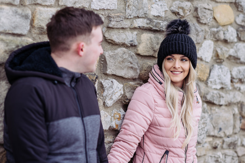 Clitheroe engagement shoot