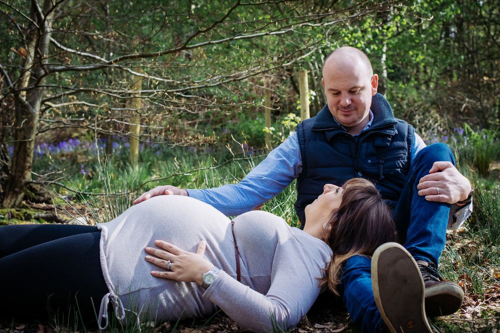 Springwood, Whalley maternity shoot