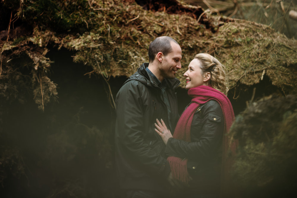 Pre wedding session at beacon fell
