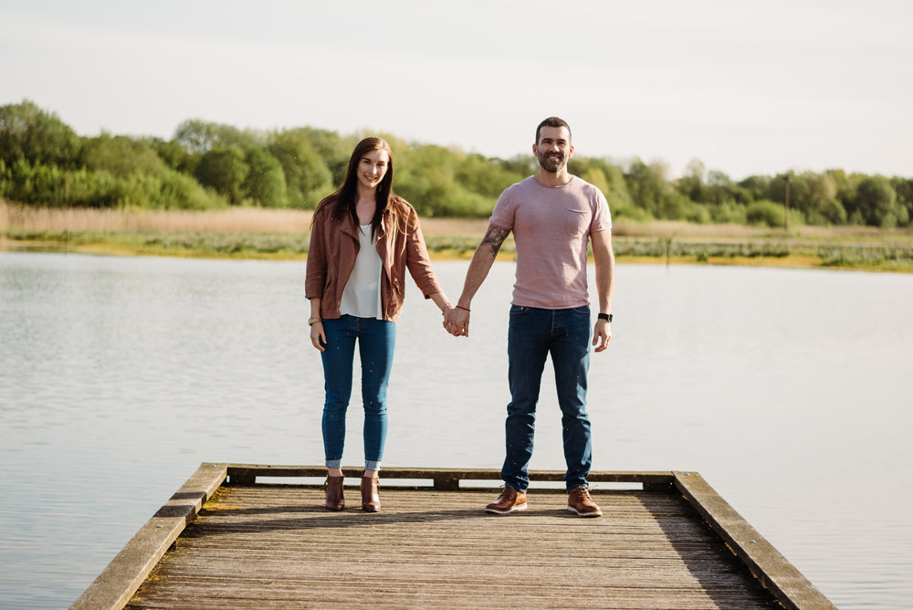 Sarah & Andy - Brockholes nature reserve
