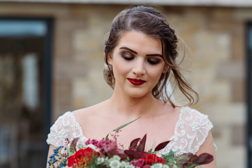 Beautiful wedding - Bashall Barn Styled Shoot