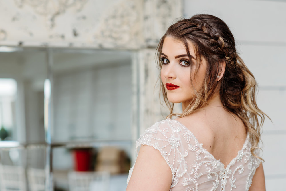 Beautiful bride - Bashall Barn Styled Shoot