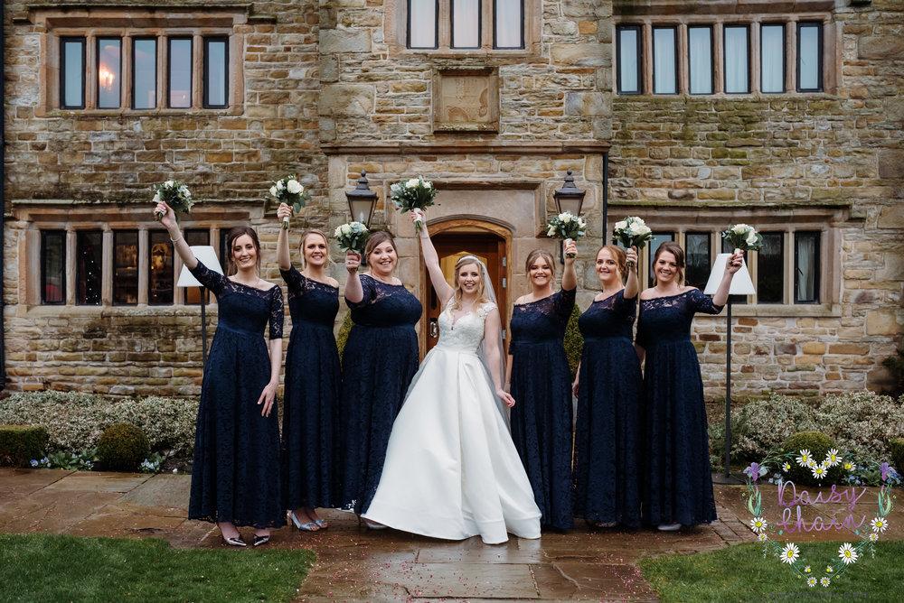 Bride squad goals - lancashire