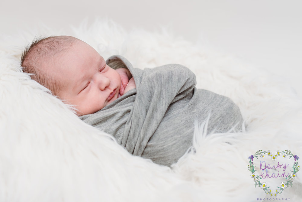 Ribble Valley newborn photo session