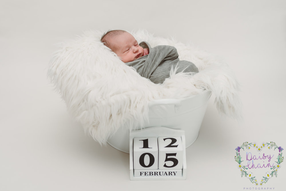 Newborn photo shoot - Ribble Valley