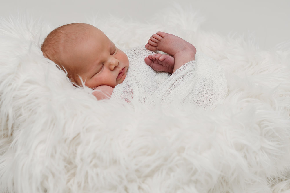 Baby boy - Ribble Valley newborn photographer