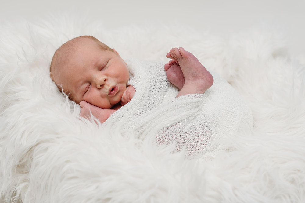 baby pout - lancashire newborn photographer