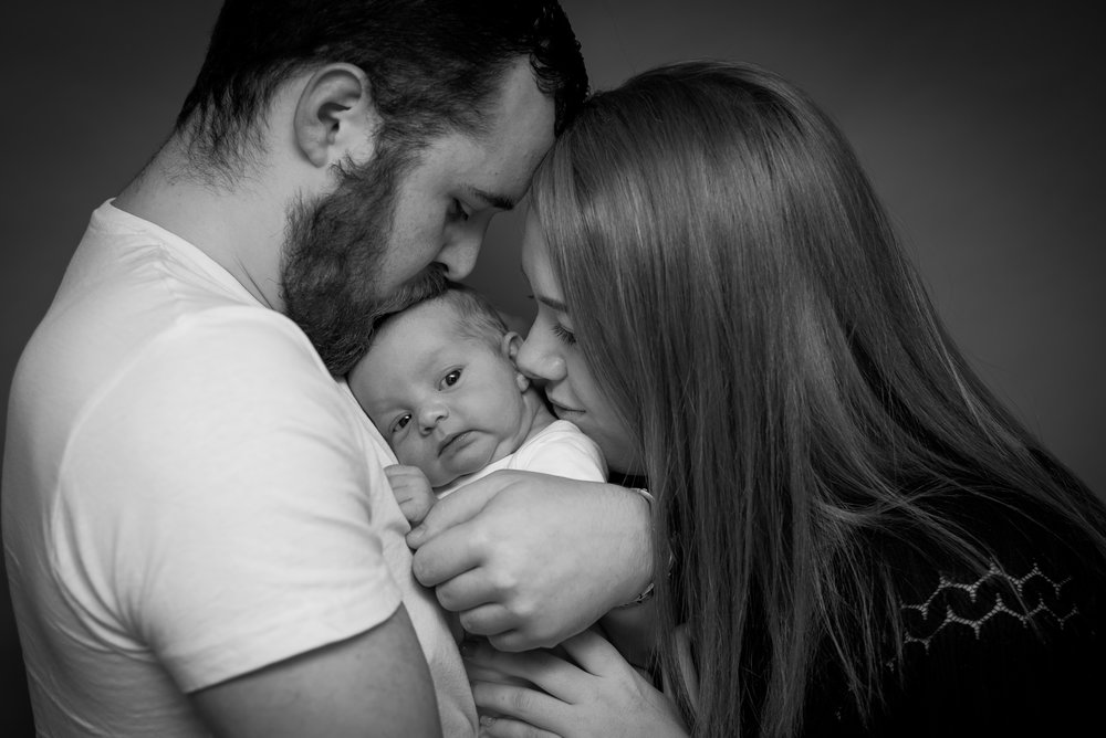 New parents - lancashire newborn photographer