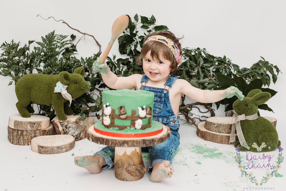 Farm cake smash - lancashire
