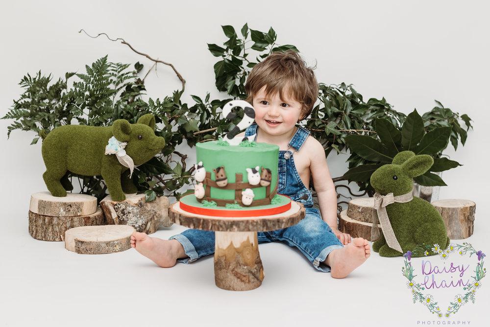 Lancashire cake smash - clitheroe