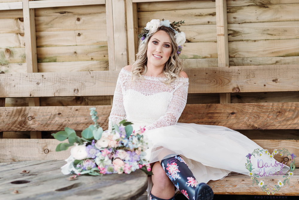 Boho wedding - lancashire